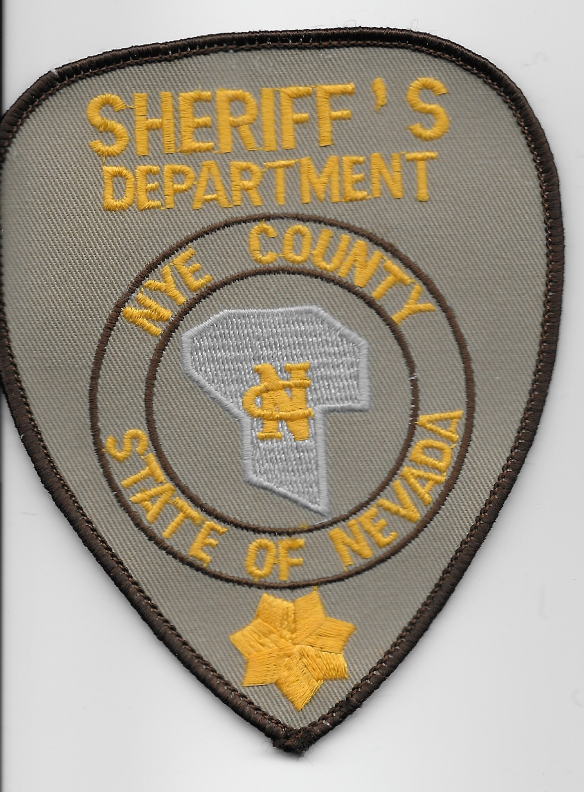 Nye County Sheriff NV o/s