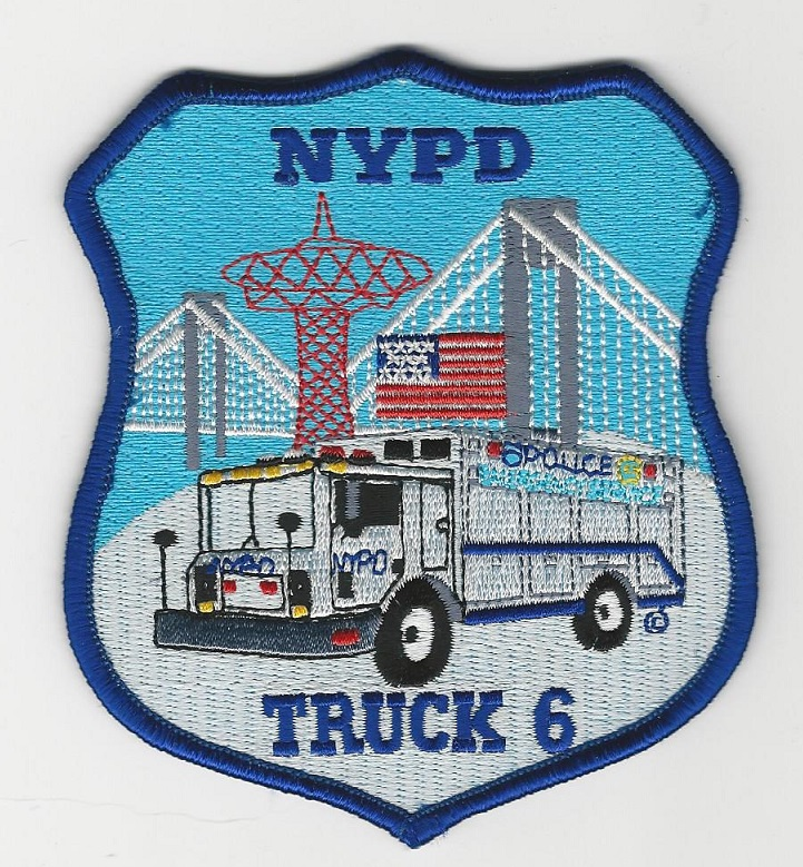 N Y P D ESU Truck 6 version 2