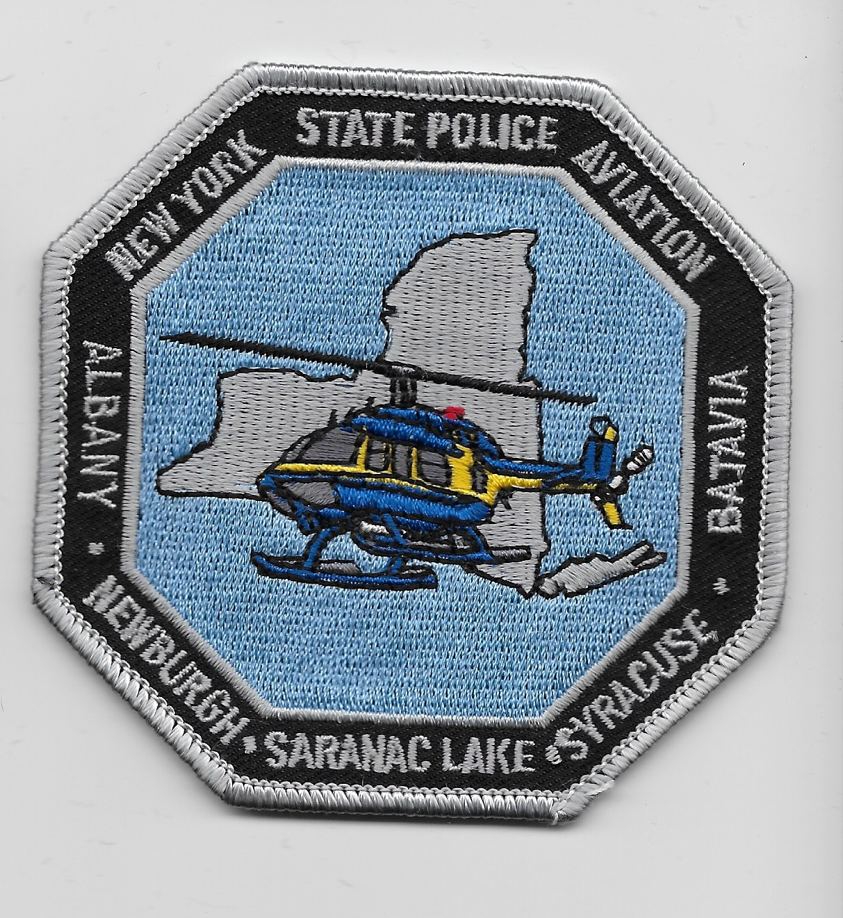 New York State Police Aviation patch