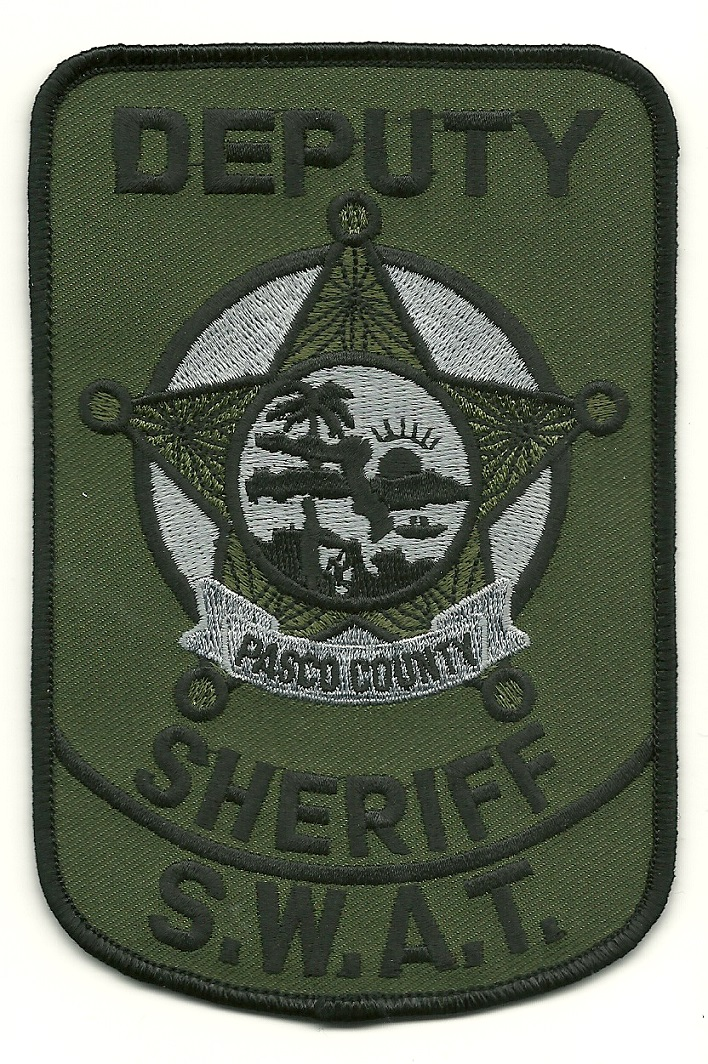 Pasco County Sheriff SWAT SRT Florida FL patch