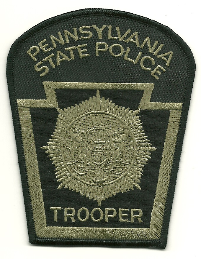 Pennsylvania State POlice SWAT SRT Trooper patch