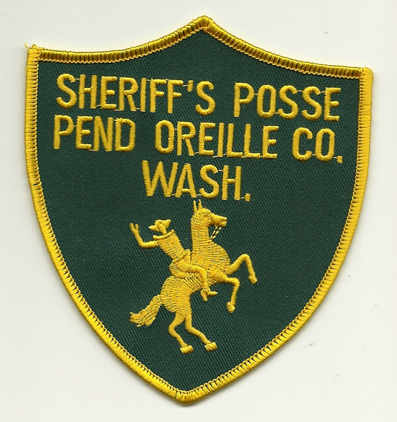 Pend Oreille County Sheriff Posse Washington WA