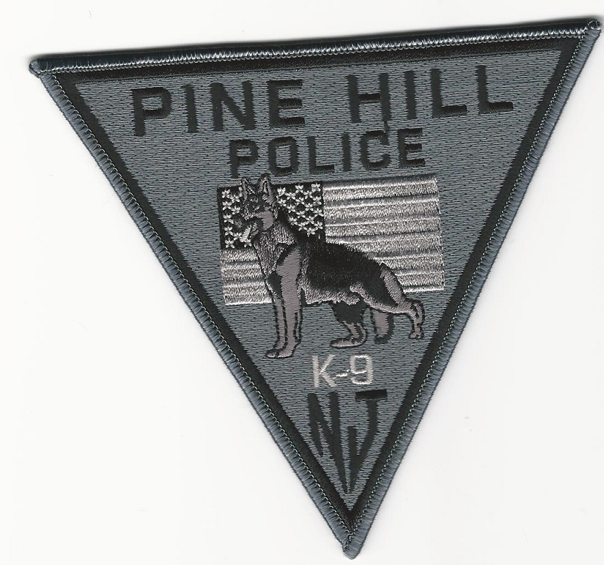 Pine Hill Police New Jersey NJ Subdued k9 k-9