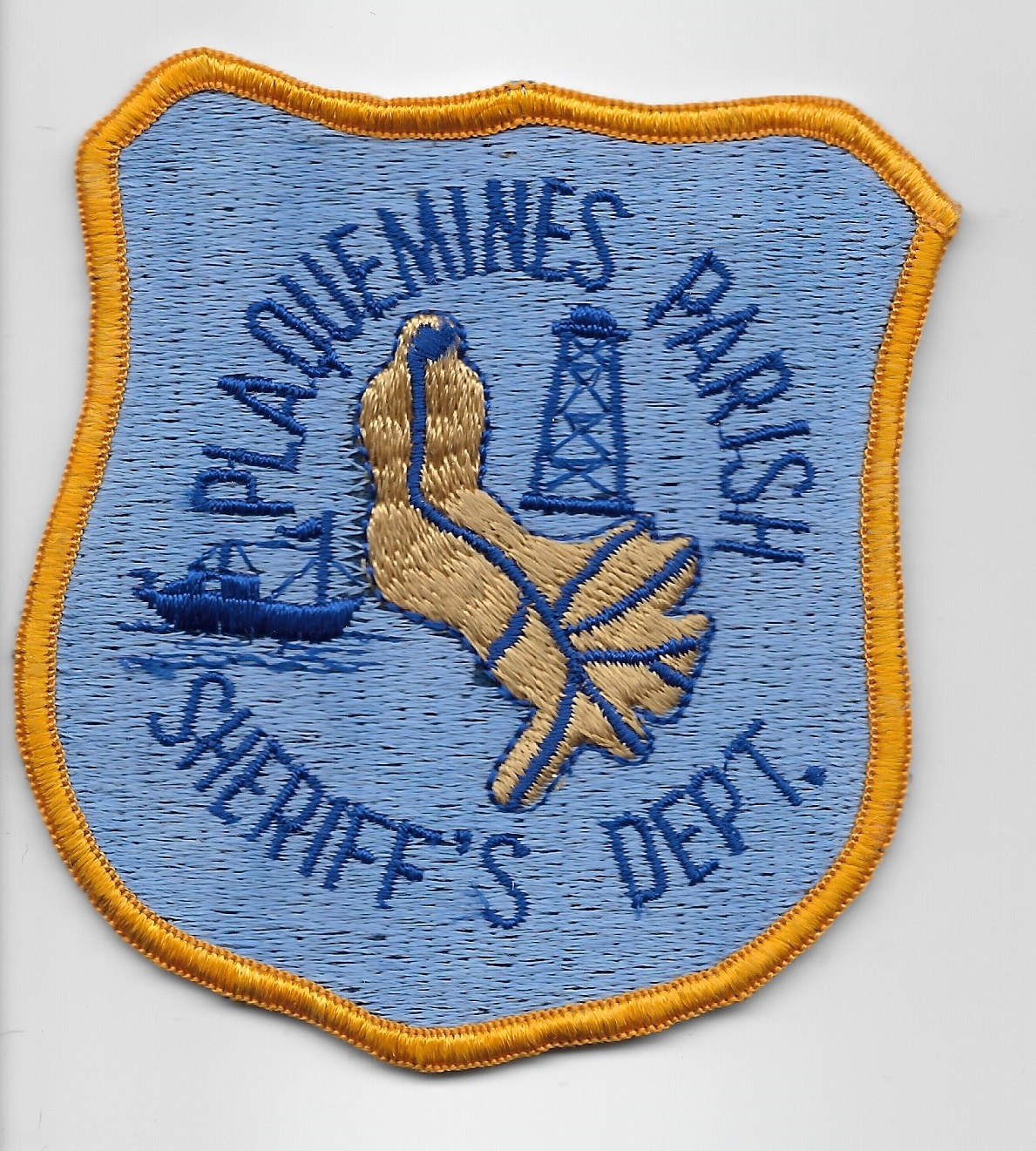 Plaquemine Parish Sheriff Louisiana LA blue