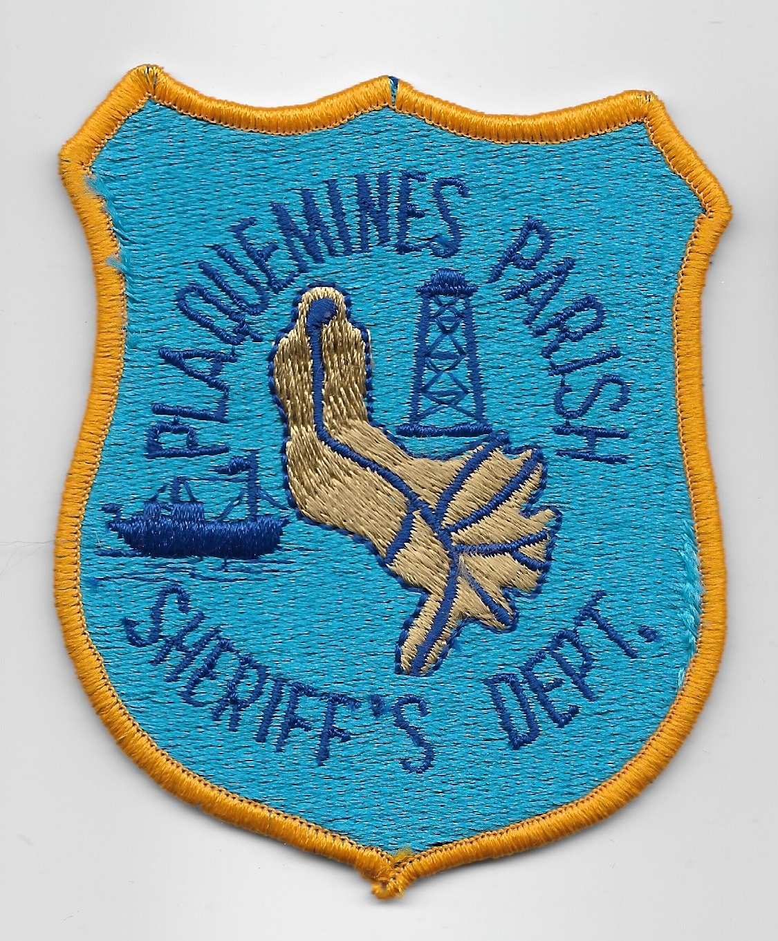 Plaquemine Parish Sheriff Louisiana LA tealblue