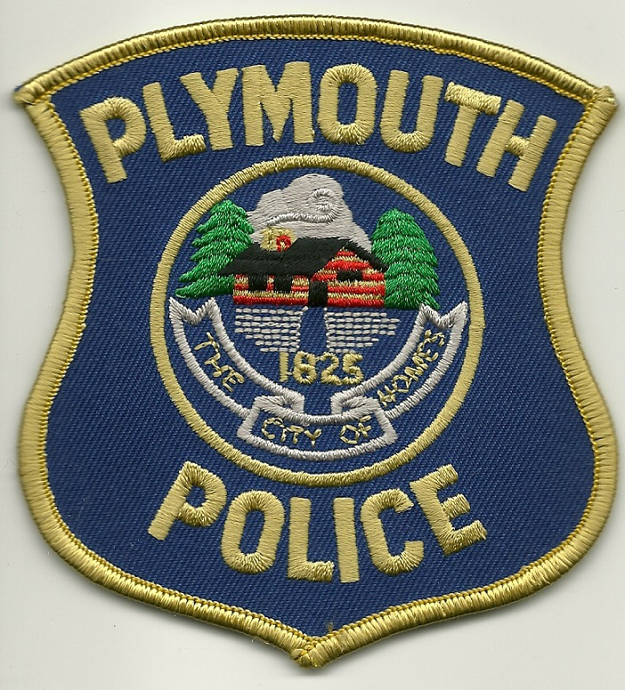Plymouth POlice State Michigan MI shoulder patch