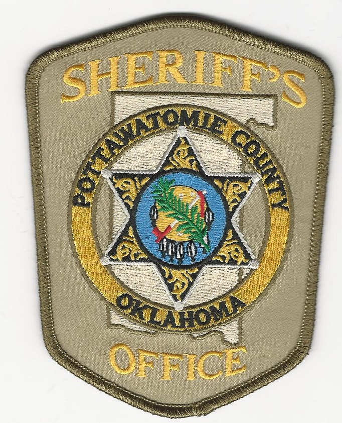 Pottawatomie County Sheriff Oklahoma OK NEW