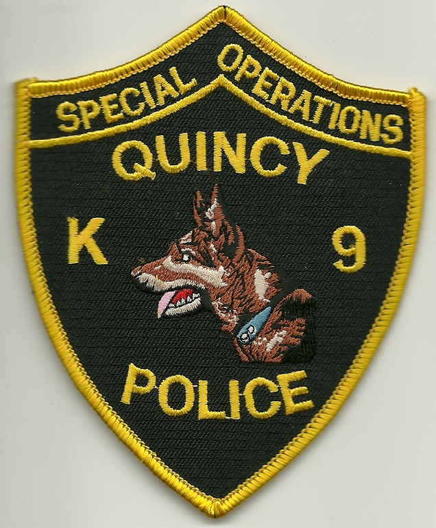 Quincy Police k9 MA
