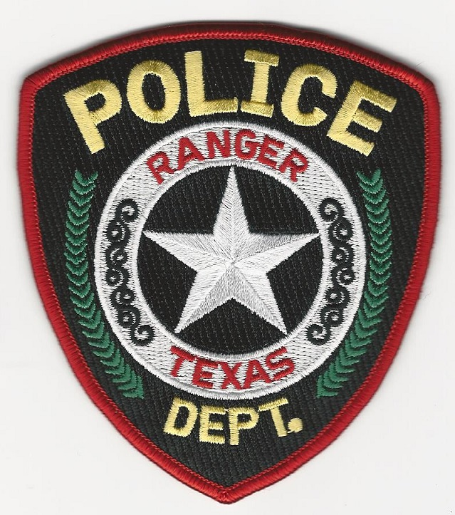 Ranger Police State Texas TX patch