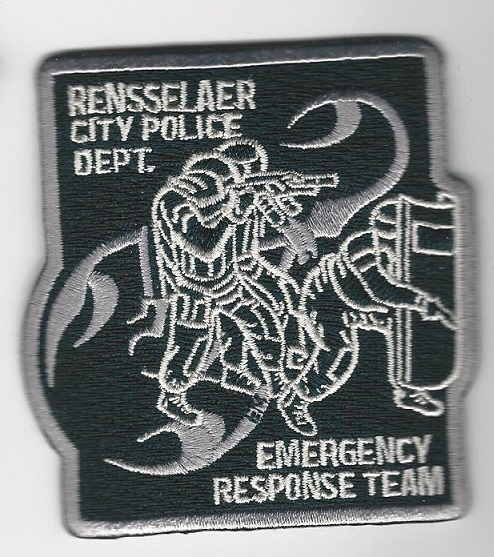 Rensselaer Police SWAT SRT patch New York