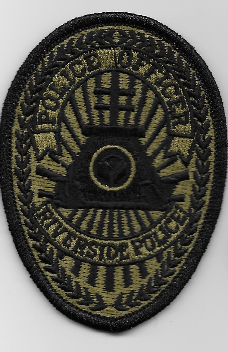 Riverside PD CA SWAT Badge