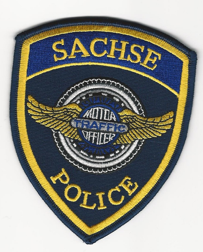 Sachse Police Traffic Motors Unit Texas TX
