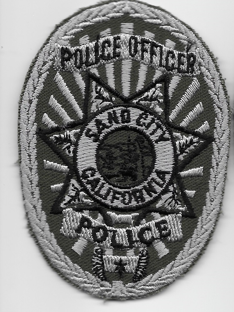 Sand City PD CA SWAT Badge