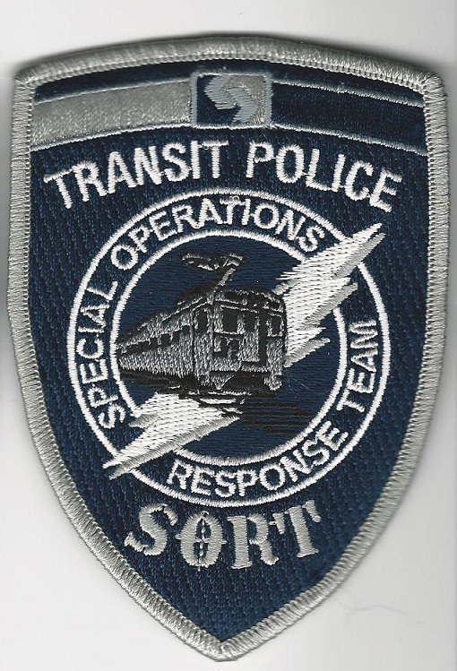 SEPTA SE Pennsylvania Transit POLICE SORT SWAT Blue
