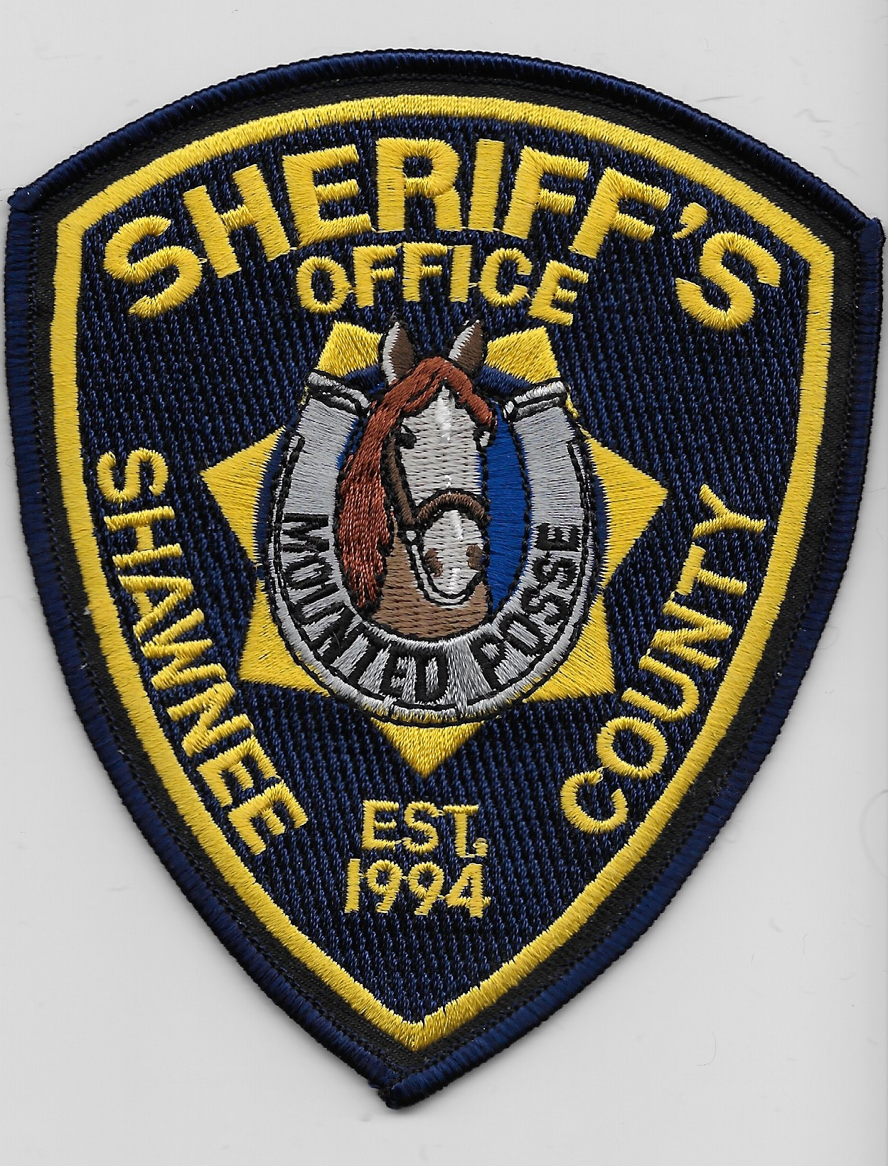Shawnee County Sheriff Mounted KS