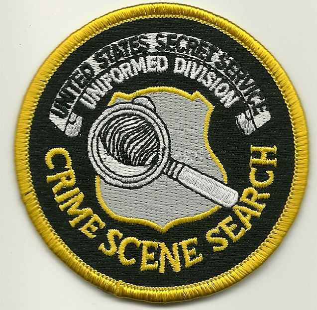 US Secret Serv Crime Scene Forensic patch