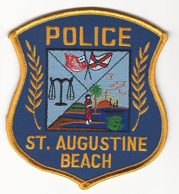 St Augustine Beach POlice State Florida
