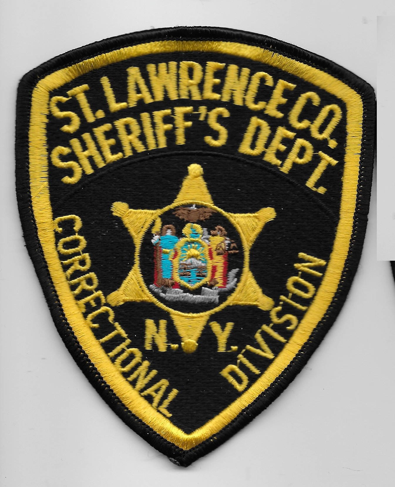 St. Lawrence County Sheriff Correctional Division NY