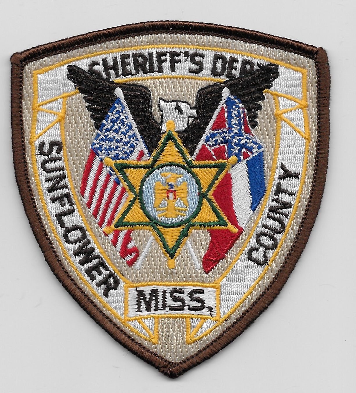 Sunflower County Sheriff MS Conf Flag