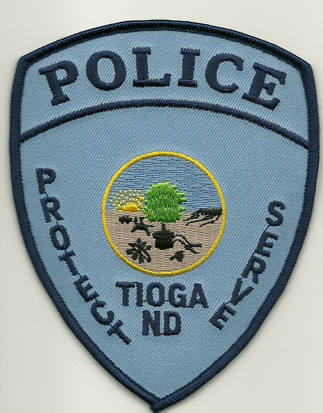Tioga Police North Dakota