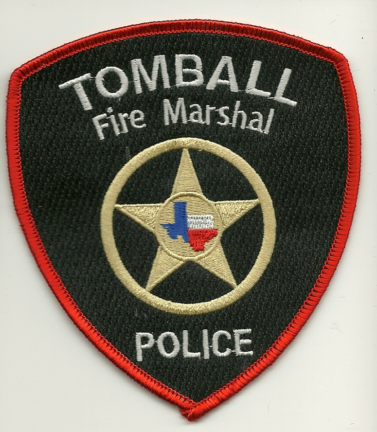 Tomball Police Fire Marshal Texas