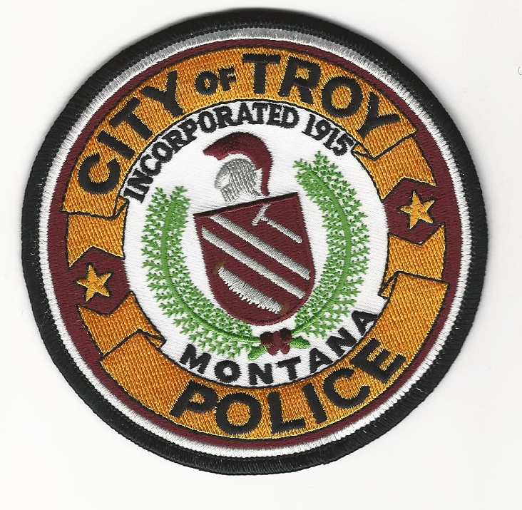 Troy Police Montana MT patch