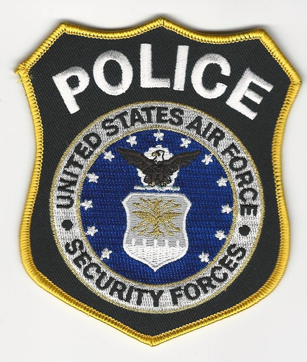 US Air Force Security Forces Police