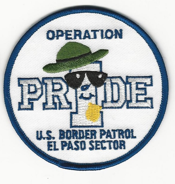 US Border Patrol El Paso Texas Operation Pride