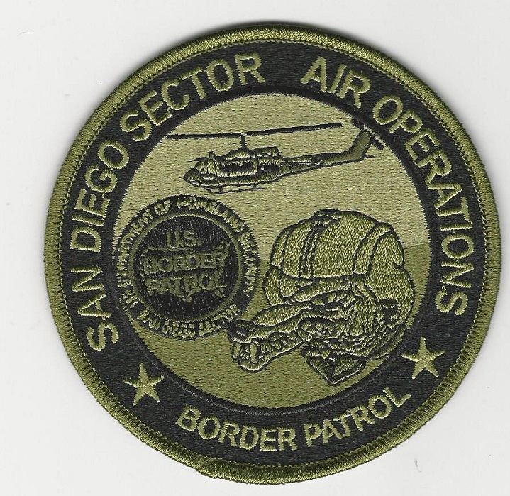 USBP Air OPS San Diego CA green
