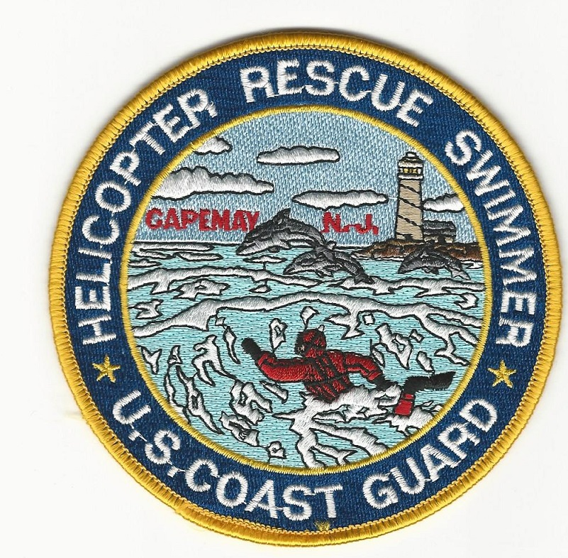 US Coast Guard Rescue Swimmer Cape May NJ