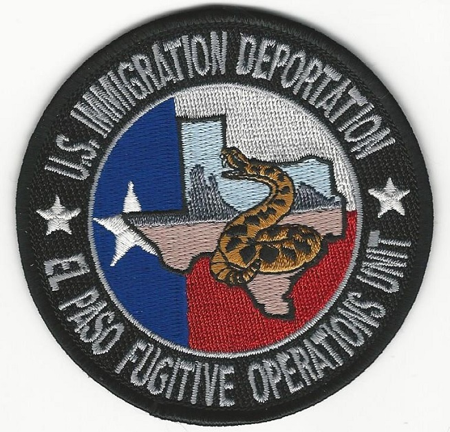 US Immigration & Deportation Fugitive Task Force TEXAS