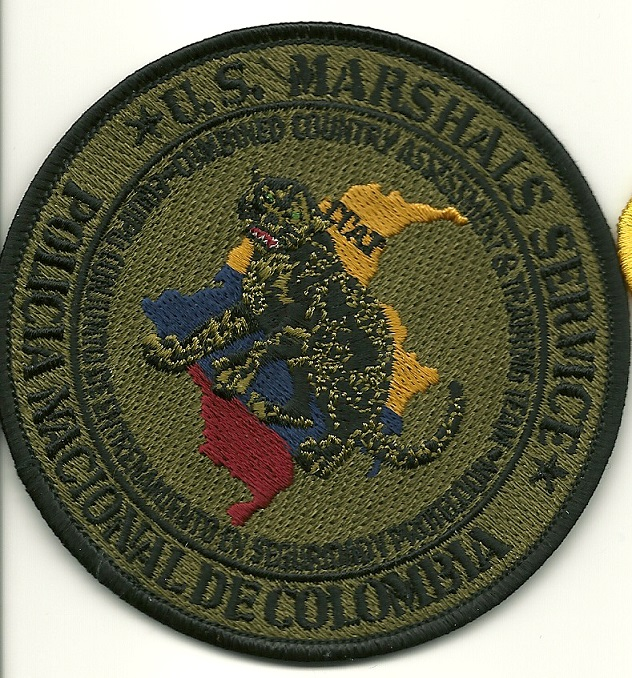 US Marshal Colombia