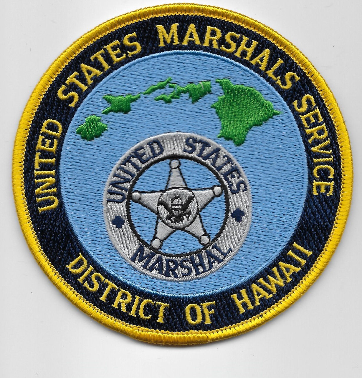 US Marshal Hawaii Gold
