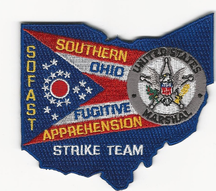 US Marshal SOFAST OHIO State Shaped