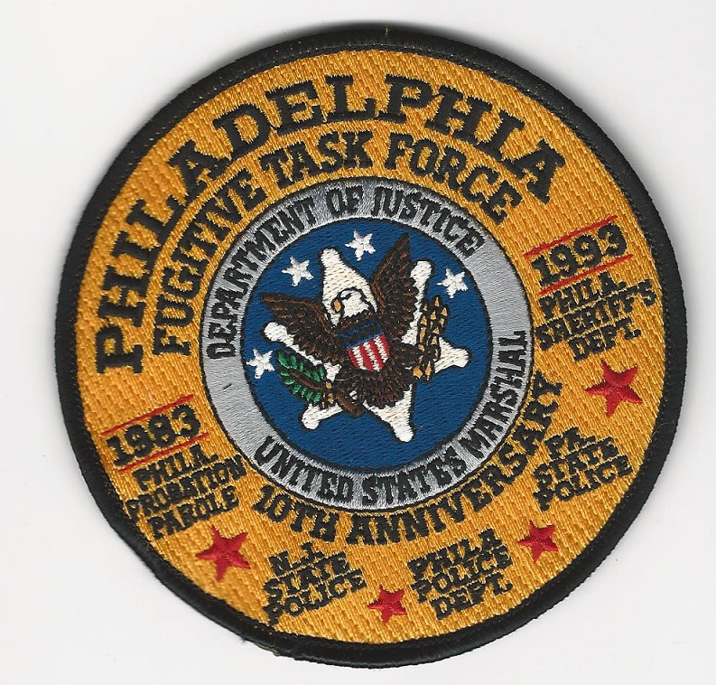 US Marshal Philly Fug Task Force 10 Anniv