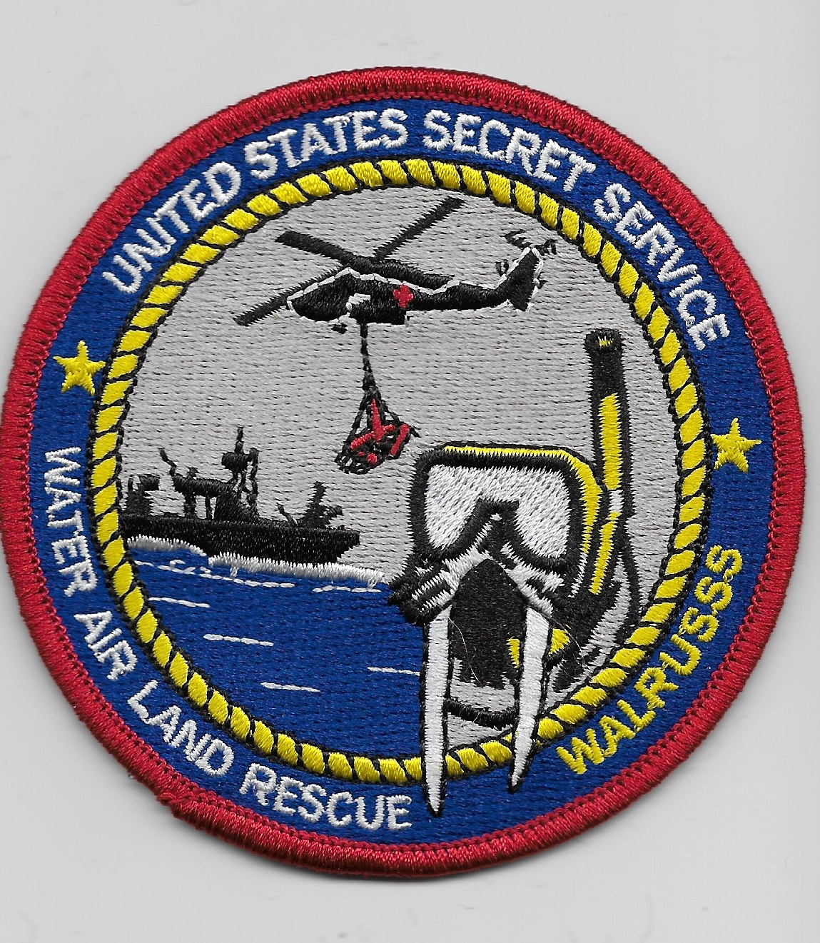 USSS Water Air Land Rescue Color