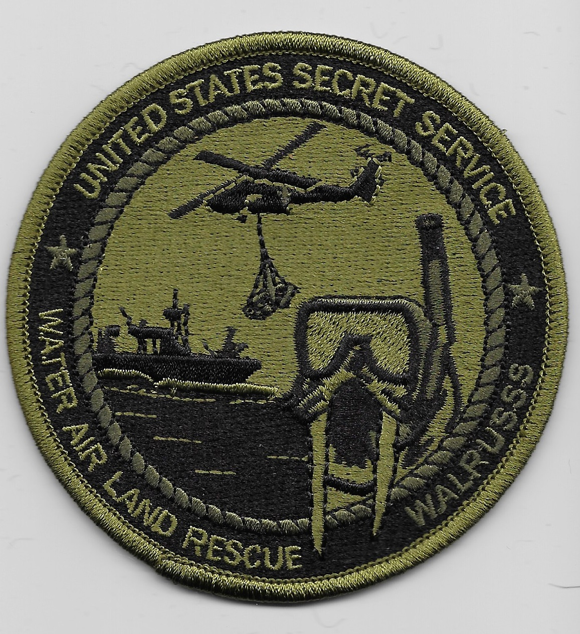 USSS Water Air Land Rescue Green