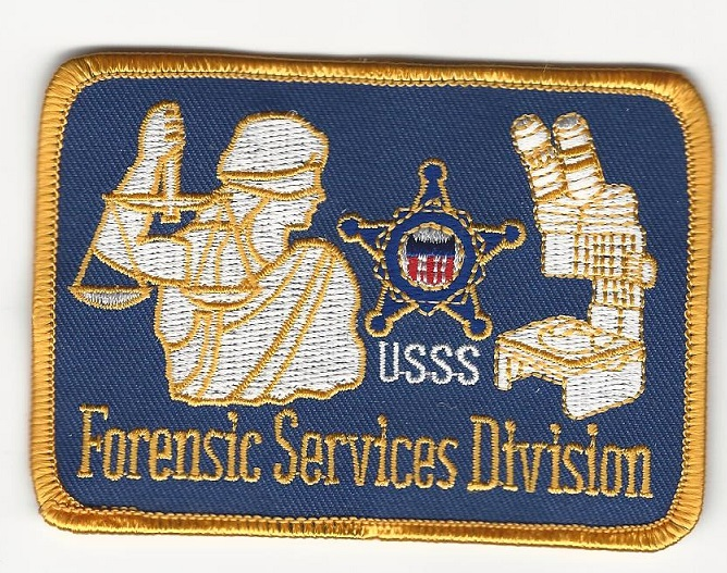 USSS Secret Srv Forensic CSI