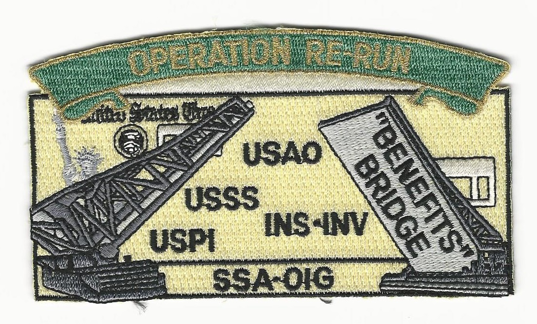 US Postal INS USSS Operation Re-Run