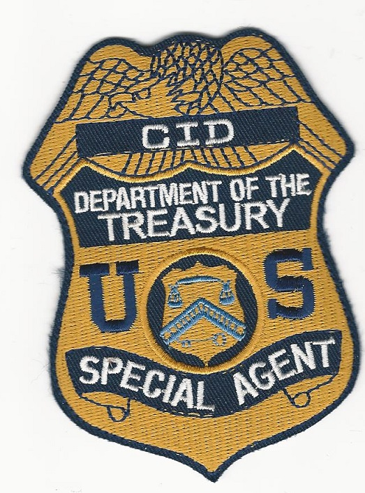 Dept of Treasury CID Special Agent