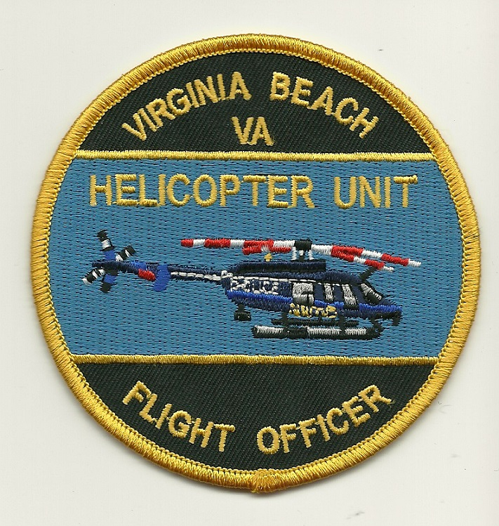 Virginia Beach Police Aviation State VA