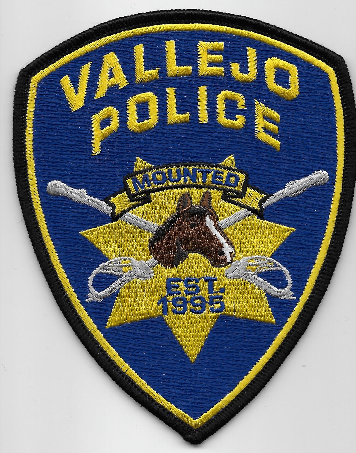 Vallejo Police Mounted CA
