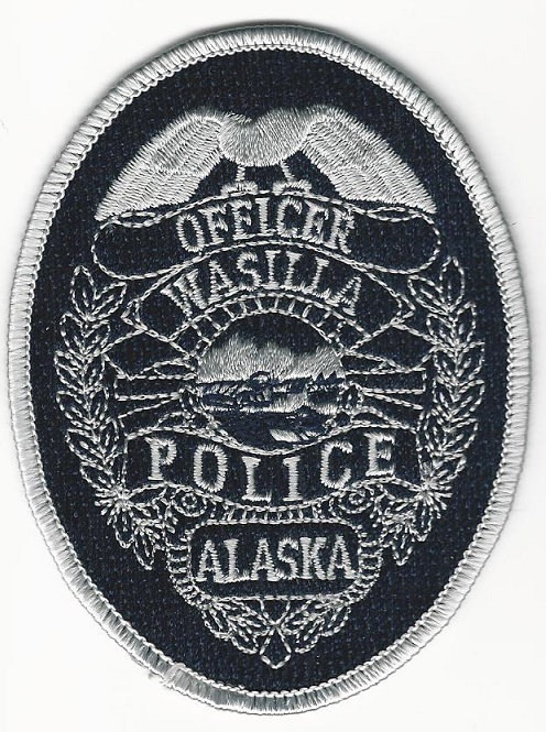 Wasilla Police AK Badge Patch