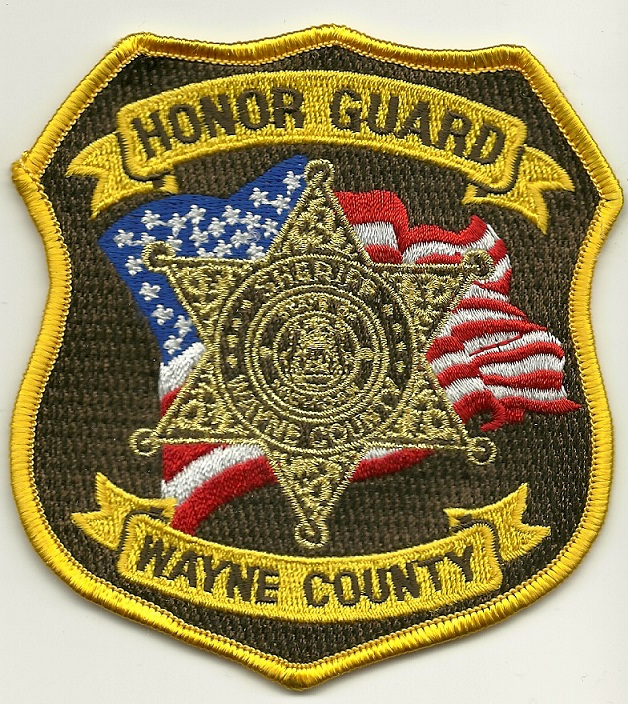Wayne County Sheriff Honor Guard State Michigan