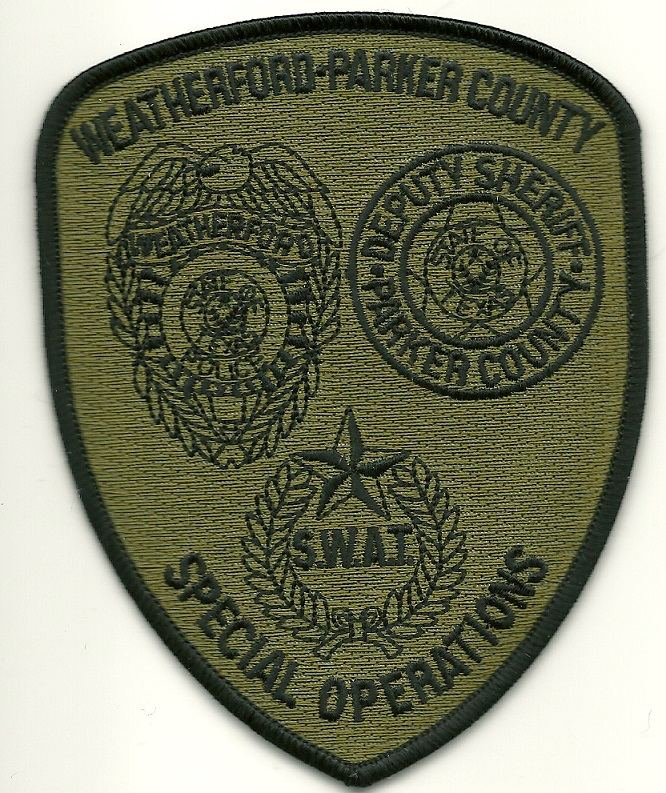 Weatherford Parker County Sheriff SWAT Texas