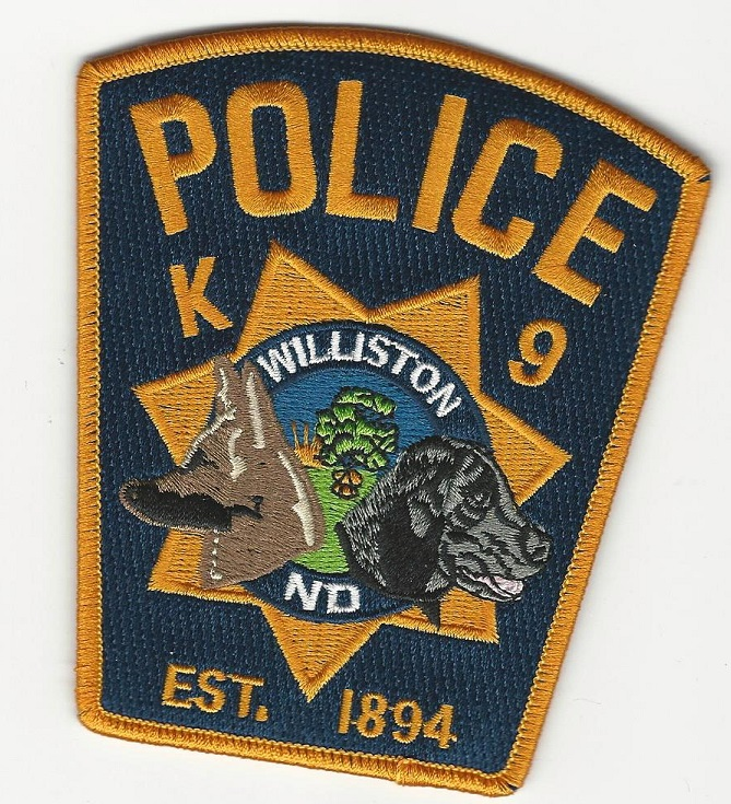 Williston Police k9 ND