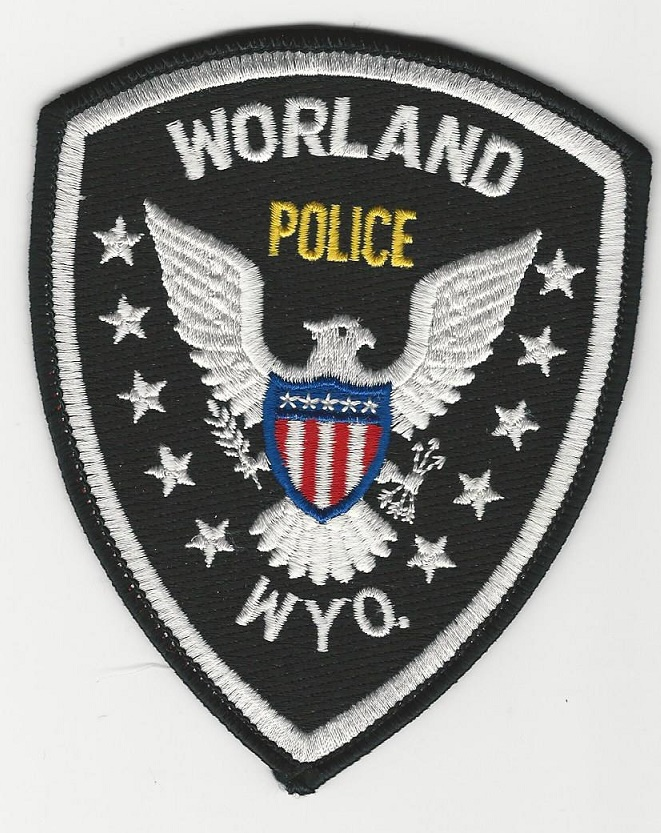 Worland Police WY OLD
