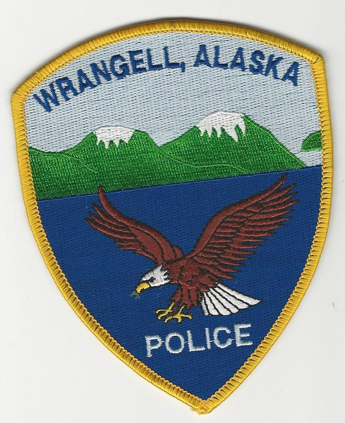 Wrangell Police AK Eagle patch